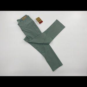 Reebox Quick Skinny Capri 'Chinois Green' Size XS